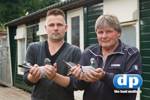Nico & Ivo van Veen, Dalen - Jonge duif 2019 i.o.