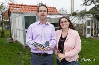 M. & M. Kramer winnen de 1e NPO La Souterraine tegen 2.875 duiven